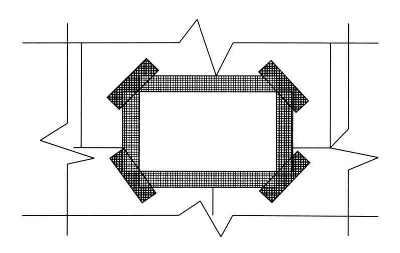 一般建筑外墙保温用几层网格布
